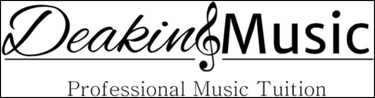 Deakin Music Logo